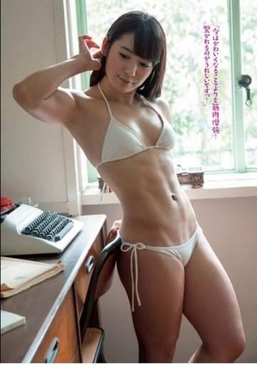 筋肉美女と遊びたい人におすすめの風俗店!筋肉アイドルの画像あり