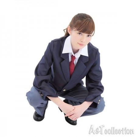 エロい男装女子 学生服