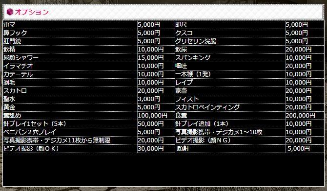 渋谷 高級デリヘル SMクラブ グラウンドゼロ オプション