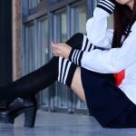 【デリヘル体験談】東京・新宿の学園系デリヘルでJK風の美女と恋人プレイ!
