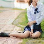 【デリヘル体験談】東京・池袋の学園系デリヘルで、巨乳制服女子と濃厚イチャラブプレイ!